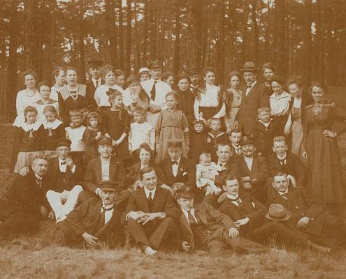 Fritz Herbold, Fritz Städing und Lerms Kinder. Otto Zank
