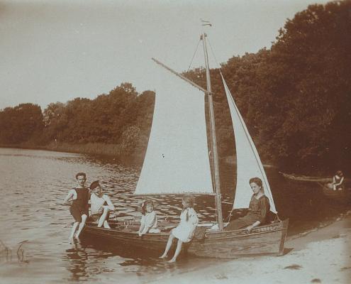 Familie Förster und Hans Richter