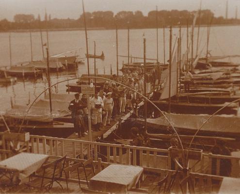 Ansegeln vor WSV Nordstern, am Nordhafen