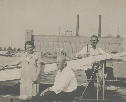M55 Rückkehr vom Müggelsee, W. Biesler und F. Dembiak