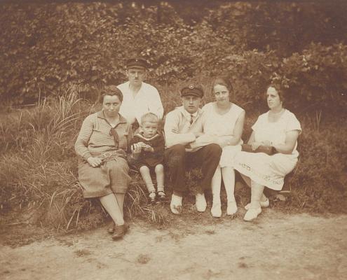 Helmut Mohneke und Familie Förstel