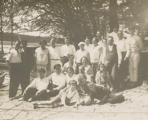 Das war dann die Truppe in Krampnitz