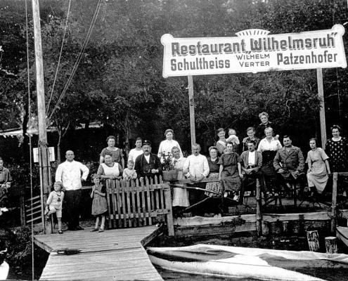 Restaurant Wilhelmsruh als zweite Heimat des WSVN
