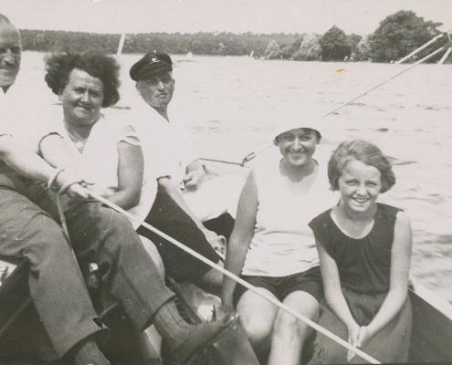 Martha und Hans Richter, Lotte Rothermund