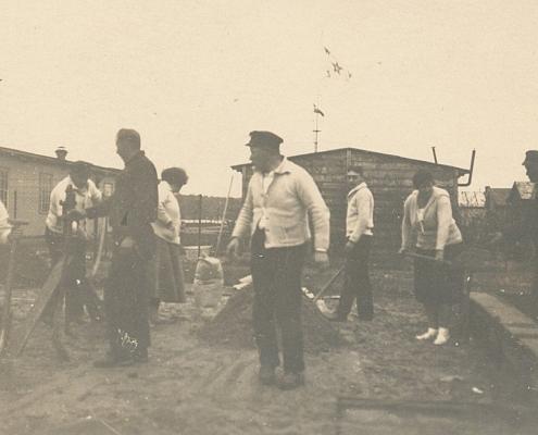 Anfang der Kolonisierung des Nordstern-Geländes