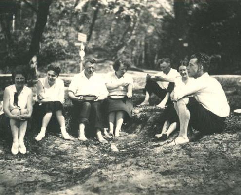 Pfingsten 1932, Schwielow See