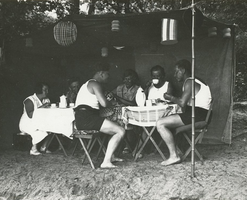 Pfingsten in der Krampnitz, E. Kunert, E. Hintze, H. Noack