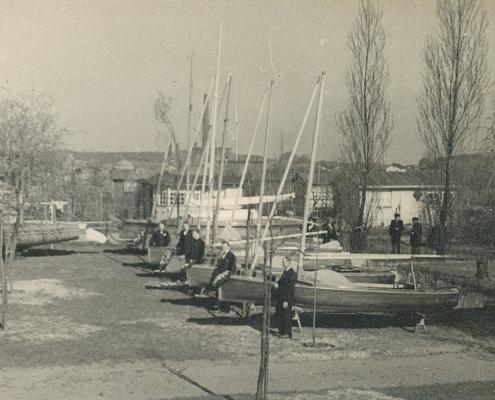 Sieben Bootstaufen im SCN