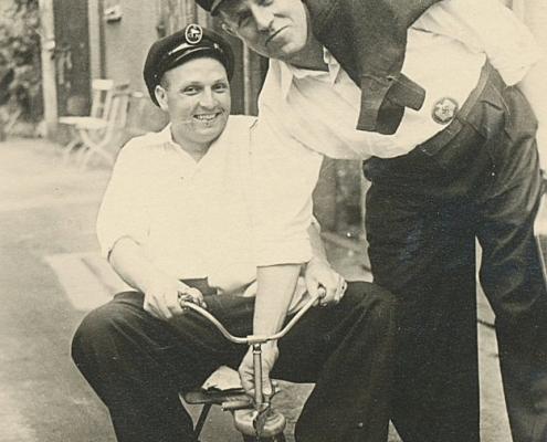 Spass mit dem Dreirad