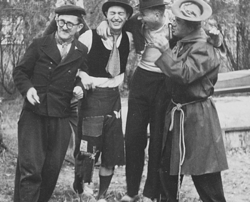 Herr Buschow, Rudi Holle, Kurt Richter, ???