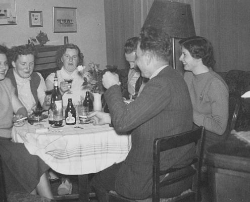 Abendrunde mit Nordsternern bei Richters