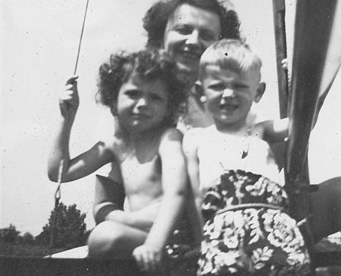 Renate, Hilde und Manfred Richter