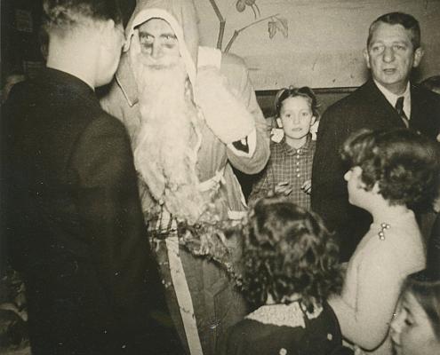 Weihnachten im Heideschloß, Bernhard Nölte (vo. li.), Kurt Richter und Erich Karge