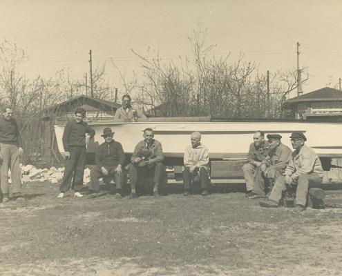 Aus einer Konservenbüchse wurde wieder ein Wilhelm Paulisch-Motorboot
