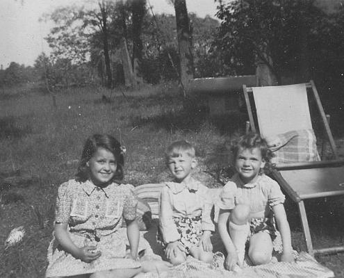 Helga Schuhr, Manfred und Renate Richter (von li.)