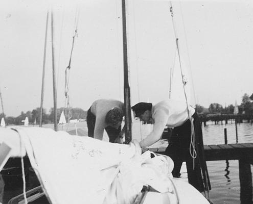 Kurt Richter und Herrmann Wollinger