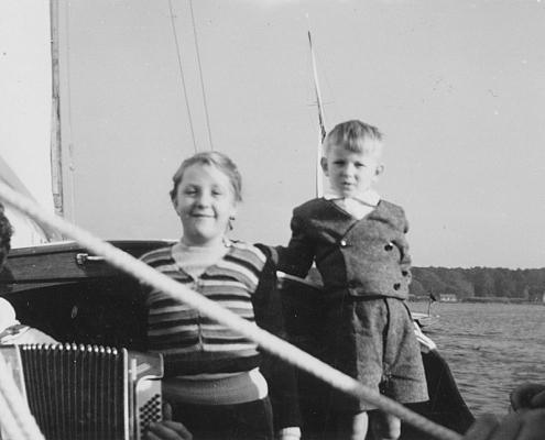 Heidi Schäfer und Manfred Richter auf Scholli II