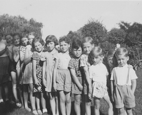 Manfred Richters Geburtstagsfeier mit Nordstern-Kindern