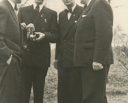 Otto Schur, Nölte, Arthur Tührer