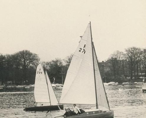 Heinz Schneider mit R 274