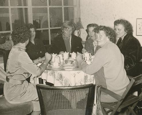 Ursel, Ursel, Elfi, Gerda, Maria (von li. nach re.)