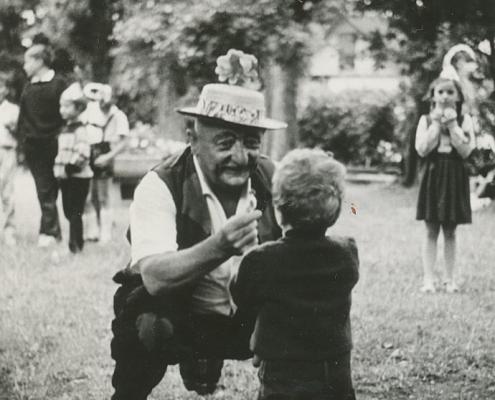 Kinderfest, E. Karge als Onkel Pelle
