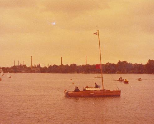 Opti-Regatta auf dem Zitadellen-See