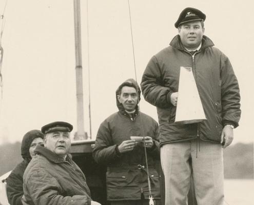 Kurt Richter, Herrmann Wollinger und Horst Küchlin