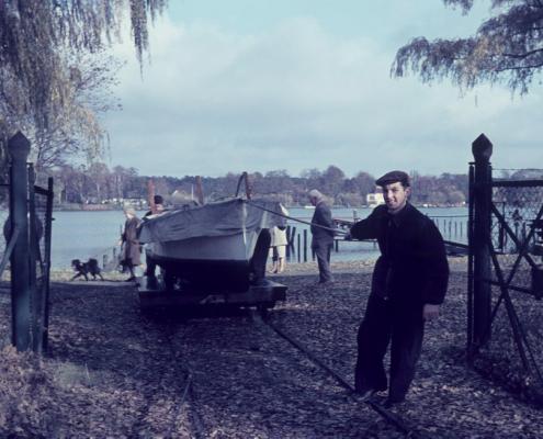 """Motorboot """"Ursula-Inge"""" von Wilhelm Paulisch"""