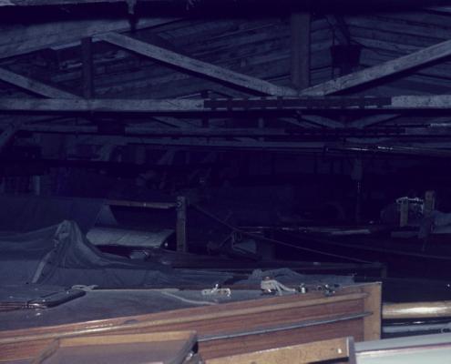 Winterlager Bootshalle