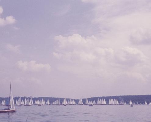 Unterhavel: Schwertbootwettfahrt