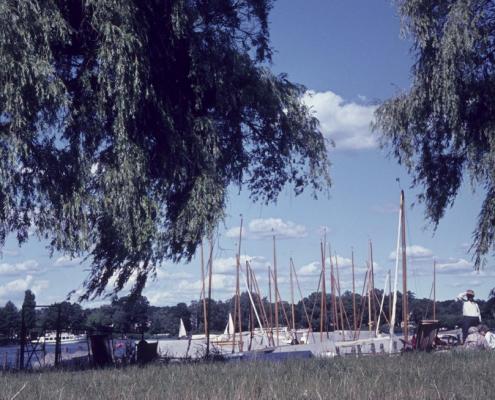Ufer vor dem SCN, Sommer