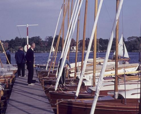P-Boote und Wettfahrt