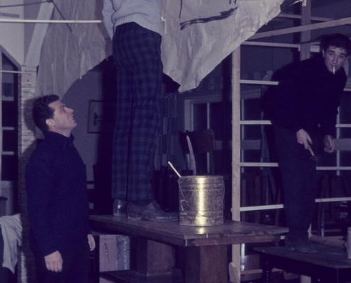 "Sylvesterdekoration (Werner Kunze & ""Lemmi""/Wolfgang Lehmberg)"