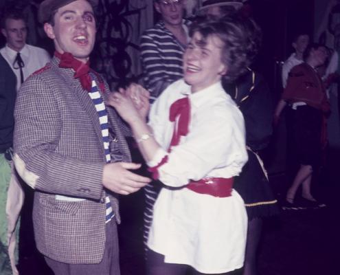 """Kostümfest (Wolfgang und """"Hilde"""" Liebing)"""