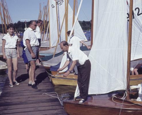 Ende der Wettfahrt (Christine Küchlin, Helmut Mohneke & Dieter Jaeger)