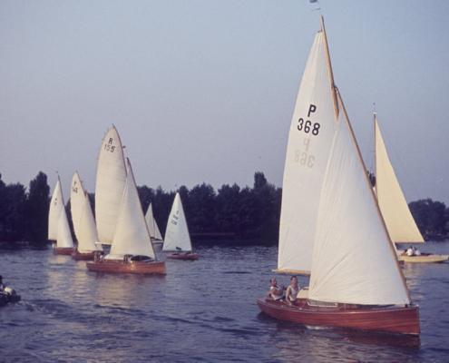 """Clubwettfahrt: """"R155"""" Robert Winkelmann & """"P368"""" Kurt Bugge"""