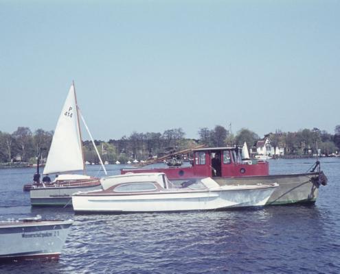 Ansegeln: Motorboot Wolfgang Birkner