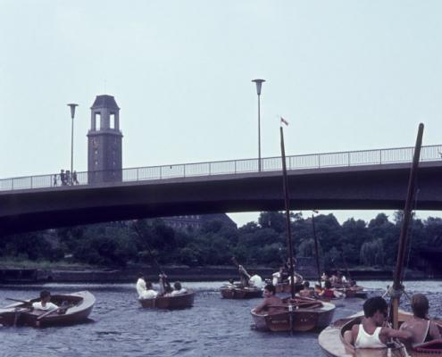 Dischingerbrücke über die Havel bei Spandau