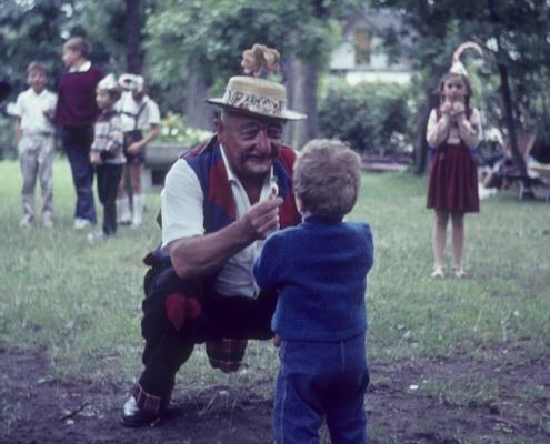 "Kinderfest mit Erich Karge als ""Onkel Pelle"""