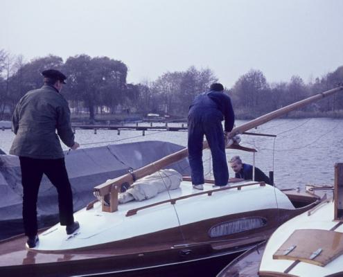 Boote abtakeln, Herbst