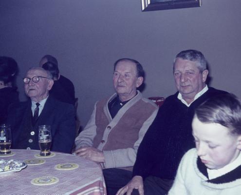 Weihnachtsfeier: Wilhelm Krüger??, Fritz Dembiak, Erich Karge & Sohn
