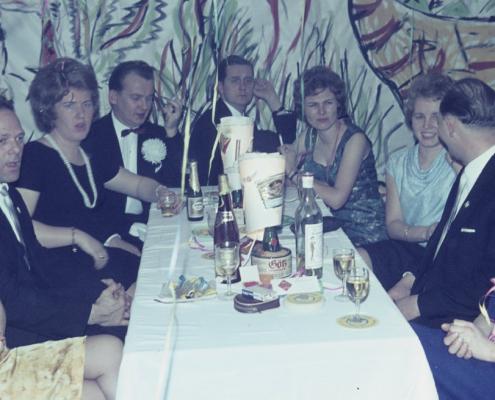 Silvester 64/65 (Fred Korseck, Gina Rückwart, Horst Rückwart, Dietrich Balzer, Ruth Balzer, Vera Jaeger, Dieter Jaeger & Hilde Liebing)