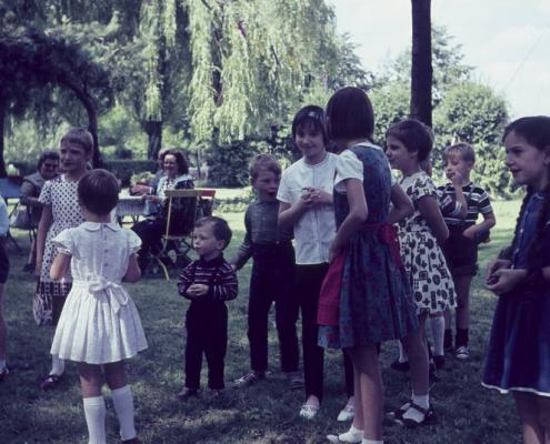Kinderfest: Stefan Braschoß, Esther Liebing (Mitte) & Ute Rothermund (rechts)