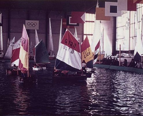 SCN-Optis auf der Wassersportausstellung am Funkturm 1971