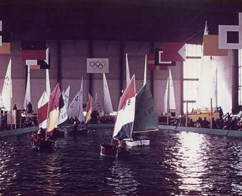 SCN-Optis auf der Wassersportausstellung am Funkturm