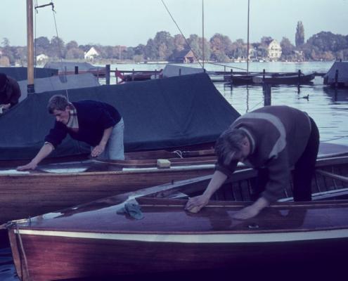 Die ersten Arbeiten für 1966 (Manfred Richter & Klaus Großpietsch)