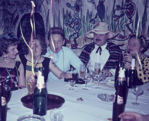 Kostümfest (Hilde Liebing, Ruth Ebert, Horst Ebert, Heinz Schneider & Ursel Schneider)