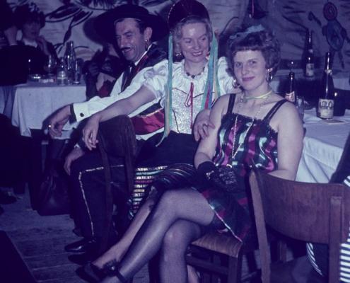 Kostümfest (Siegfried Freitag, Ursula Freitag & Hilde Liebing)