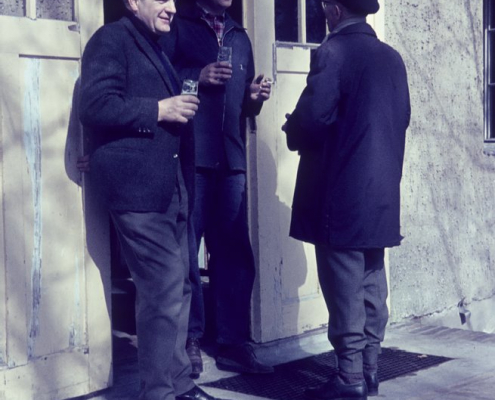 Frühjahr: Rudi Hermann, Günther Fritsche & Albert Reußner